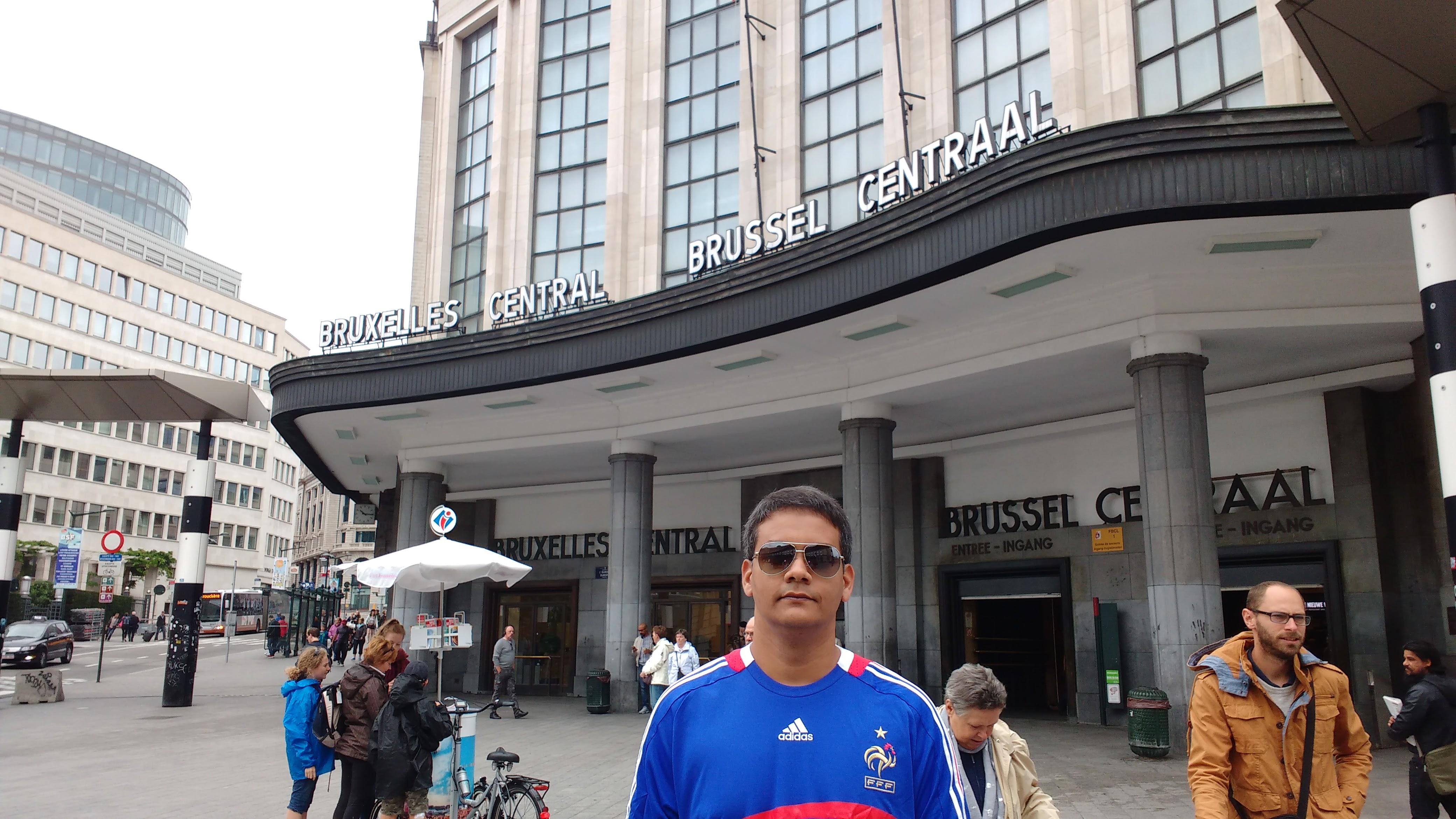 <center>Pit stop esperto para uma visita a Bruxelas… </center>